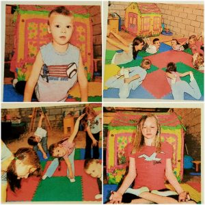 4 square kids yoga pic